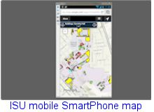 ISU smart phone map